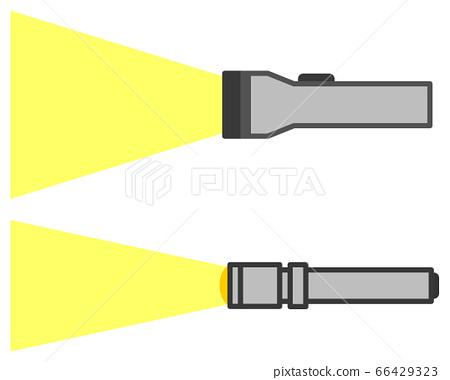 손전등의 빛 66429323
