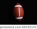 brown American Football 66430142
