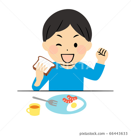 아침 식사 소년 66443633