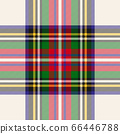 vector illustration of seamless blue and white tartan background 66446788