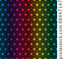 vector illustration of abstract rainbow geometric background 66447147