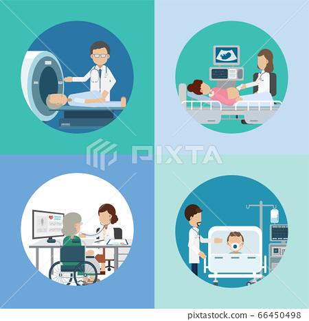 Medical service concept 66450498