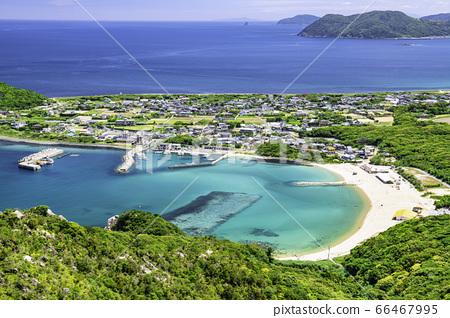 立石山에서 본 이토의 아름다운 풍경 후쿠오카 현 이토 시마시 66467995