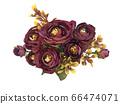 꽃 수채화 재료 66474071