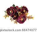 꽃 수채화 재료 66474077