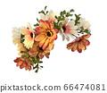 꽃 수채화 재료 66474081