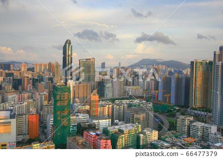 24 Aug 2008 the Tai Kok Tsui area at hong kong 66477379