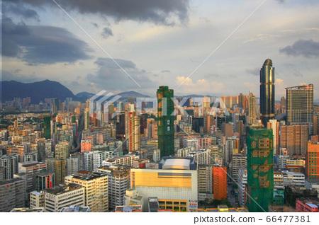 24 Aug 2008 the Tai Kok Tsui area at hong kong 66477381