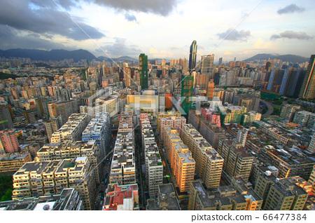 24 Aug 2008 the Tai Kok Tsui area at hong kong 66477384