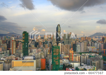 24 Aug 2008 the Tai Kok Tsui area at hong kong 66477387