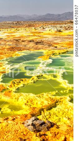 africa  the volcanic depression  of dallol 66478037