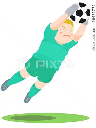 축구 골키퍼 66481772