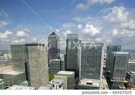 Caanary wharf buildings in london 66487020