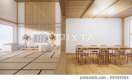 Scene Multi Function Room Ideas Japanese Room Stock Illustration 66489064 Pixta