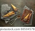 Chocolate ice cream 66504578