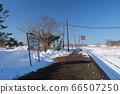Hanasaki Line Nemuro Main Line Nishiwada Station Home 1 66507250