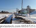 Hanasaki Line Nemuro Main Line Nishiwada Station Home 2 66507251