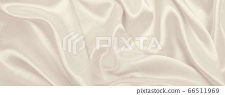 Smooth elegant golden silk or satin luxury cloth 66511969