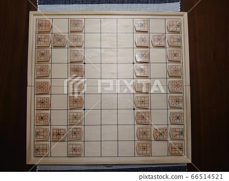 Shogi board game match initial placement 66514521