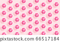Summer creative pattern with striped white pink 66517184