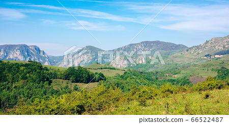 rocks and cliff of romania gorges. beautiful 66522487