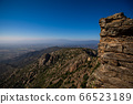top view of Catalonia from some castl and stone walls 66523189