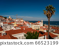 The capital of Portugal, Lisbon, top view from the cafe on the Central point 66523199