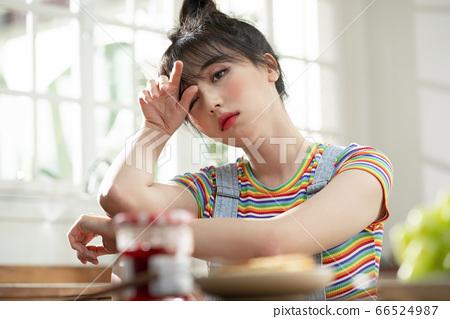 生活方式,女人,廚房 66524987
