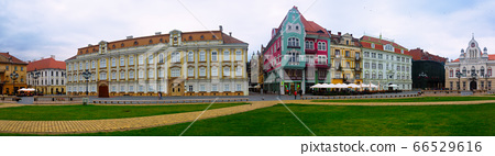 Panorama of Unirii Square, Timisoara 66529616