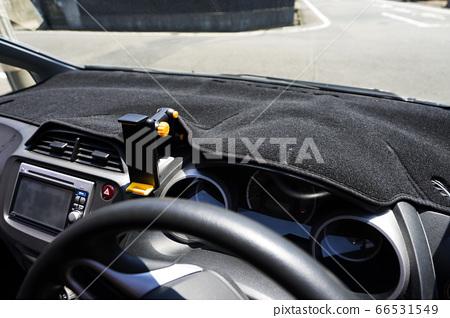 자동차 용 저 반사 대시 보드 매트 자동차의 자외선 차단제 66531549