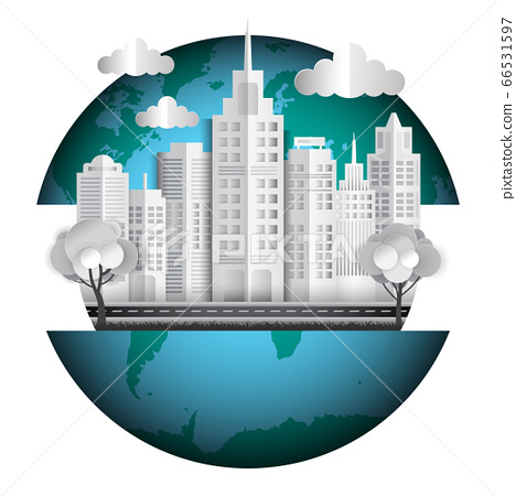 Cityscape in the world 66531597