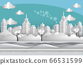 Cityscape at riverside 66531599