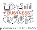Business financial startup hand drawn doodle style 66536222