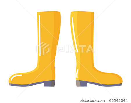 Rubber Wellingtons or Gumboot for Water Protection 66543044