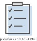 컨디션 체크 시트의 간단한 일러스트 66543943