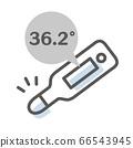 체온계의 간단한 일러스트 66543945
