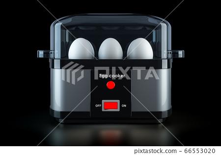 Egg cooker or egg boiler with eggs 66553020
