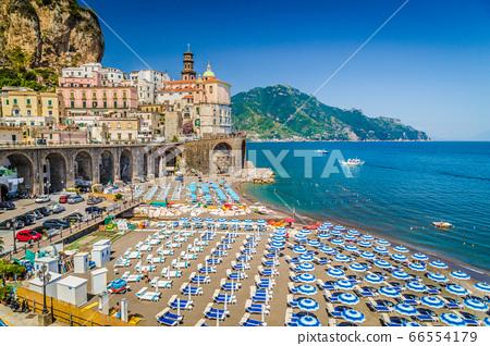 Historic town of Atrani, Amalfi Coast, Campania, Italy 66554179