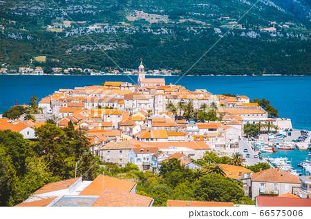 Town of Korcula, Dalmatia, Croatia 66575006