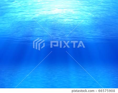 빛이 비추는 수중 66575908