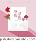母親節康乃馨賀卡 66592724