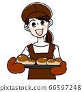 Bakery woman 66597248