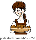 Bakery woman 66597251
