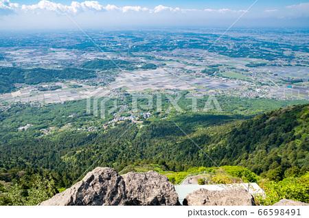 【이바라키 현】 봄 츠쿠바 女体山에서 바라 보는 관동 평야 66598491