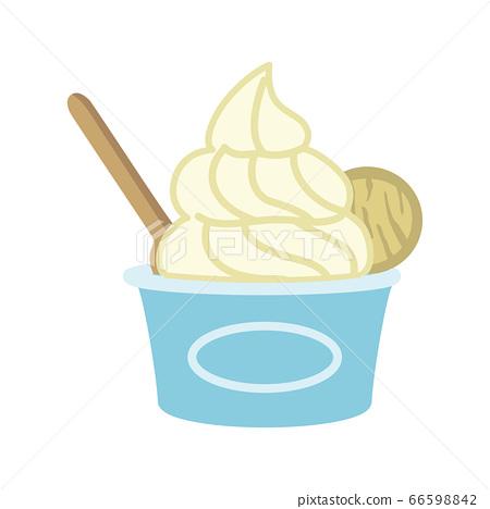 冰淇淋插圖 66598842