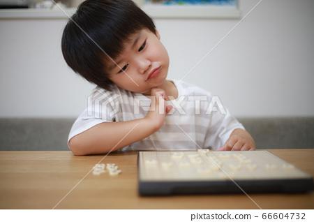 指向shogi的男孩 66604732