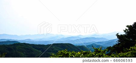 산맥과 하늘이 어우러지는 경치 66606593