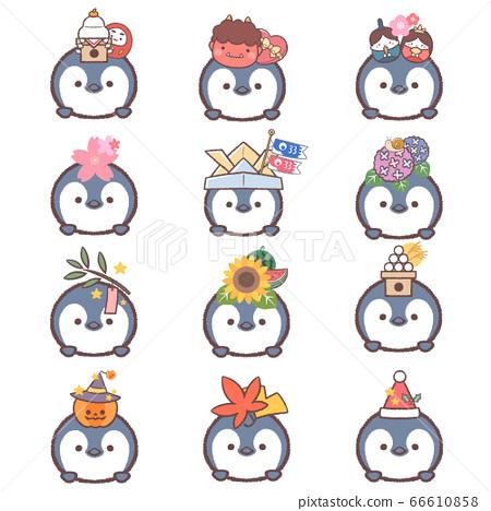 企鵝小雞季節性套裝 66610858