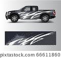 modern design for truck graphics vinyl wrap vector 66611860