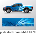 Truck and car graphic background wrap and vinyl 66611870